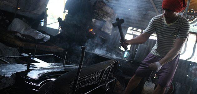 Blacksmith shop in Maa, Davao City.