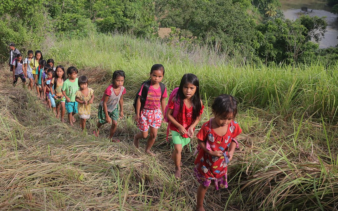 Extraordinary determination of Lumad children in Bentangan
