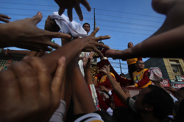 IN PICTURES: First Traslacion of the Black Nazarene in Tagum City