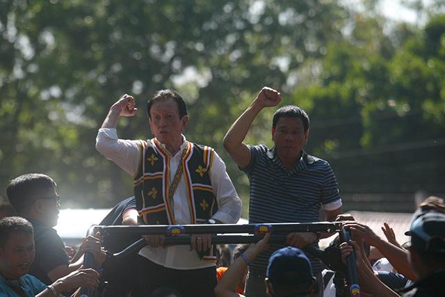 Bukidnon's Zubiri endorses Duterte