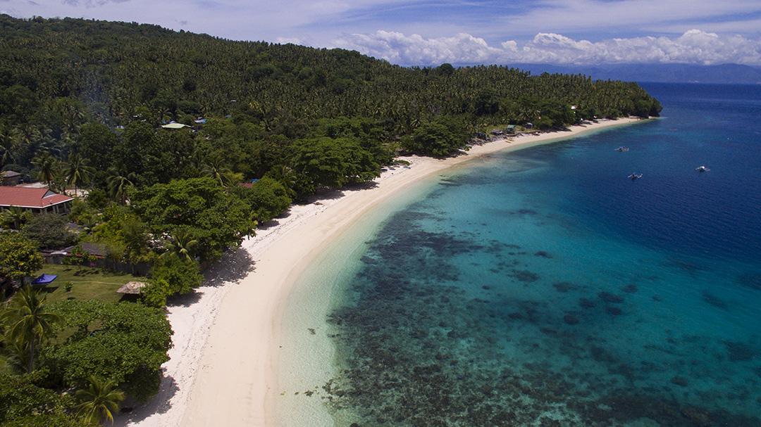 Pristine beaches of Pangubatan